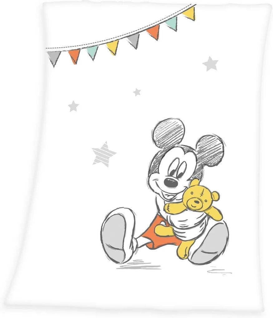 Pătură Herding Mickey Mouse, pentru copii, 75 x 100 cm