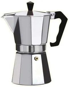 Cafetiera Espresso Floria ZLN-2492, 6 cesti, 300 ml, Ø9 cm, aluminiu, Argintiu ZLN-2492