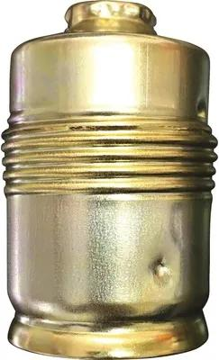 Dulie metalica E27 alamita, cu filet exterior partial