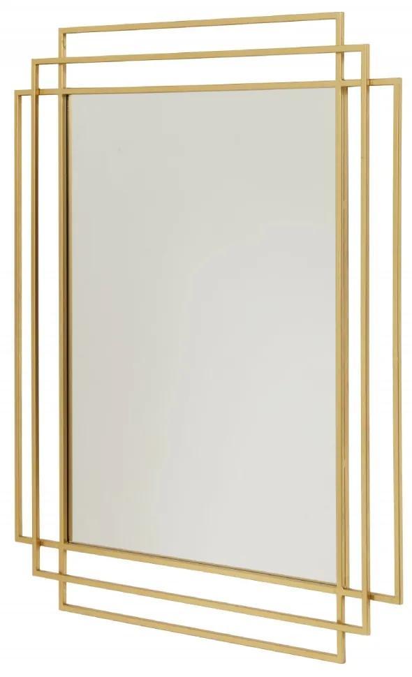 Oglinda 97x76cm Square Gold