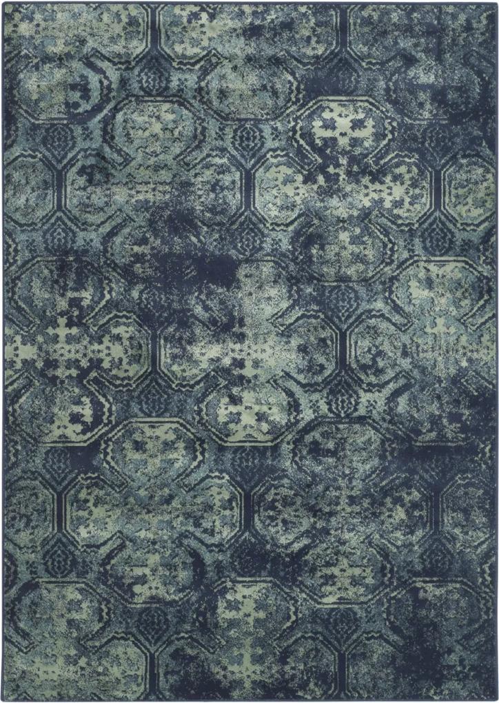 Covor Oriental & Clasic Rashida, Albastru/Multicolor, 100x140