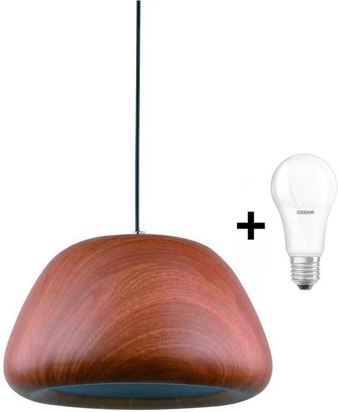 LEDKO 00244 - LED Lustră 1xE27/8,5W/230V
