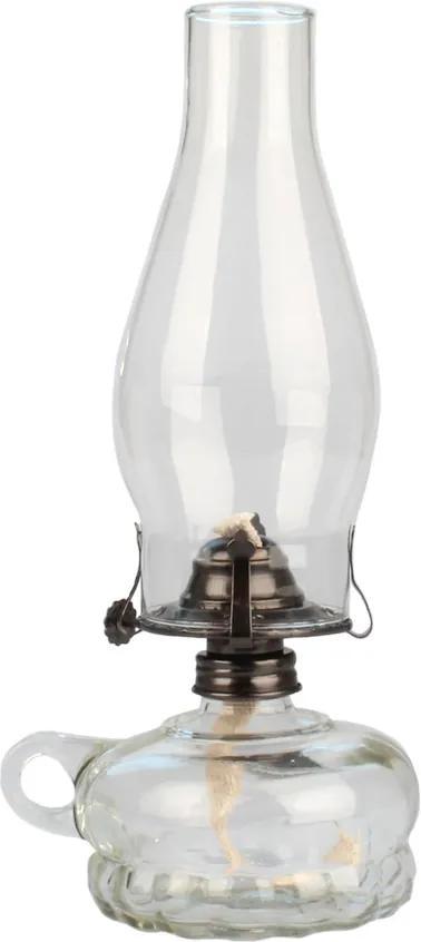 Lampă cu gaz, transparentă