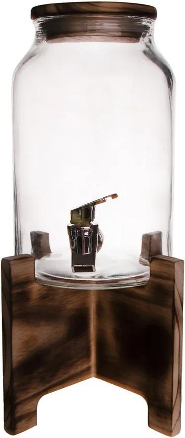 Carafă Orion, 4,2 l cu robinet și stativ