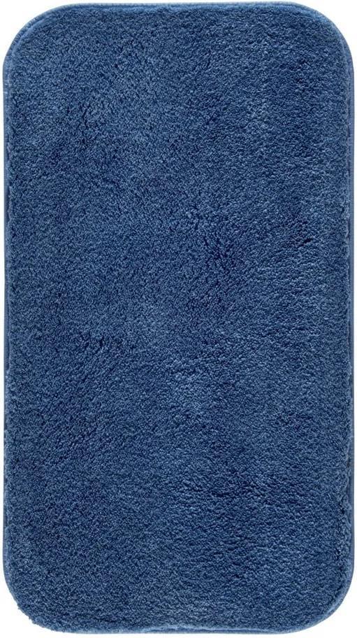 Covoraș de baie Confetti Bathmats Miami, 67 x 120 cm, albastru închis