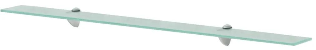 243785 vidaXL Raft suspendat din sticlă, 100 x 20 cm, 8 mm