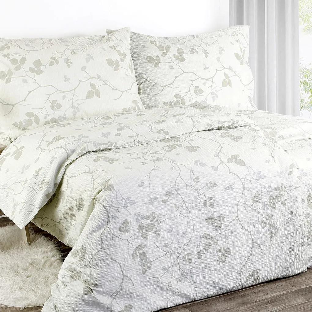 Goldea lenjerie de pat din creponată - model 388 140 x 200 și 70 x 90 cm