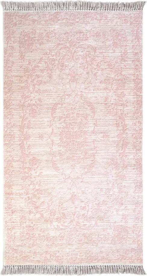 Covor Vitaus Hali Gobekli, 50 x 80 cm, roz