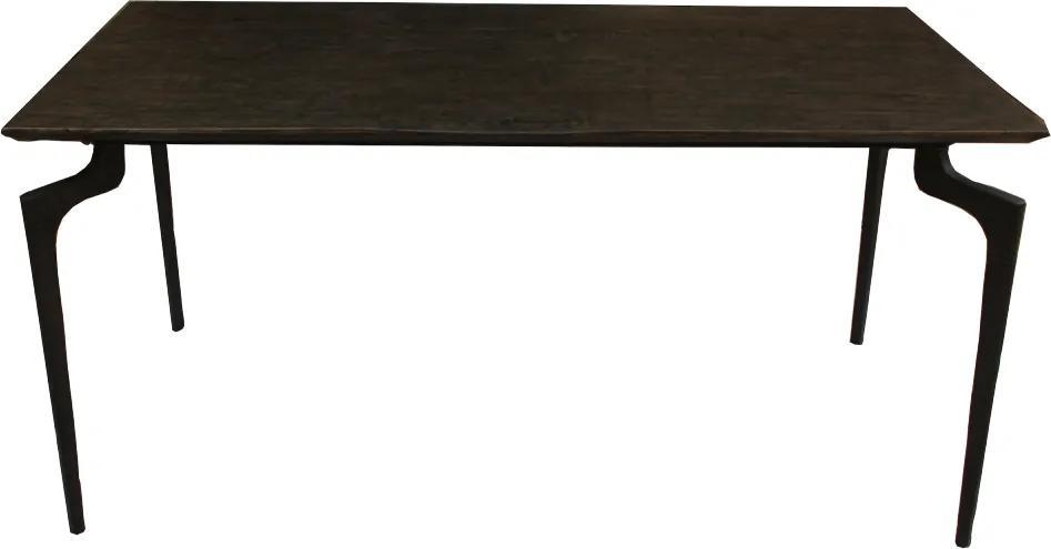 Masa dining cu blat din lemn Wooden Small 160x80cm