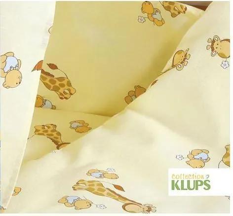 Set lenjerie 6 piese K014 Giraffe beige