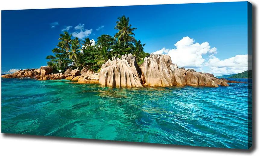 Imprimare tablou canvas Insula tropicala
