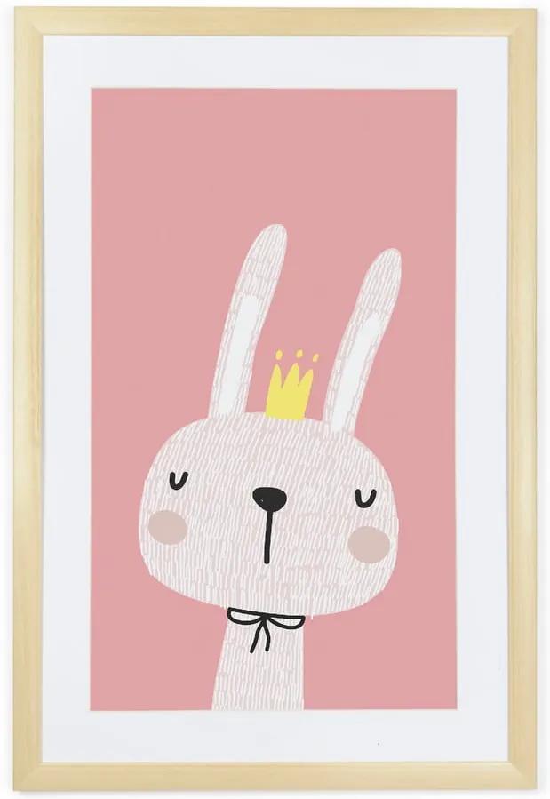 Tablou Tanuki King Rabbit, 60 x 40 cm