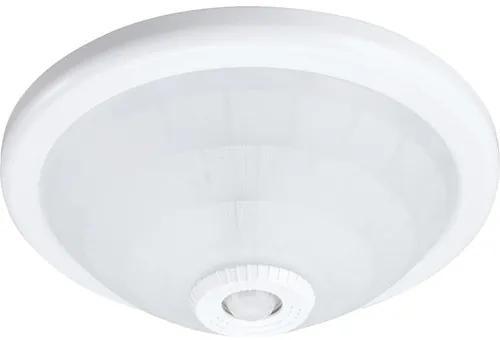 Plafoniera cu senzor integrat Comtec E27 max. 2x40W, alb