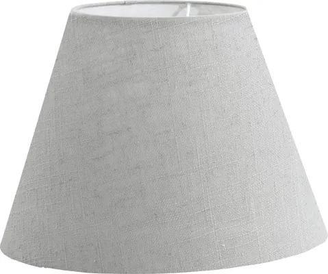 Abajur textil Vintage E14 Ø205 mm, 145 mm, gri