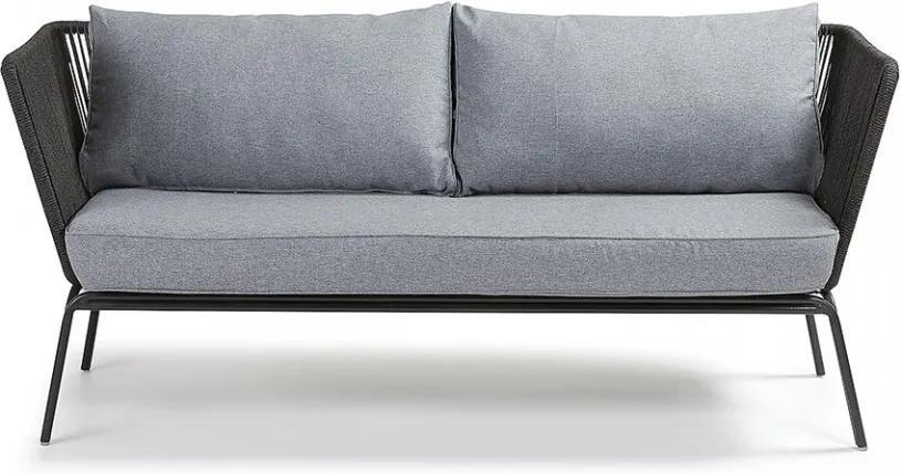 Canapea gri pentru 3 persoane Bernon La Forma