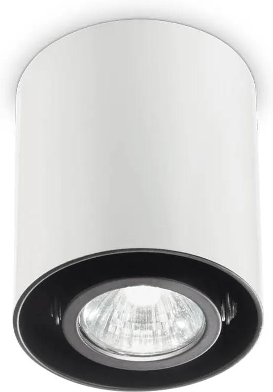 Spot-Aplicat-MOOD-PL1-SMALL-ROUND-BIANCO-140841-Ideal-Lux