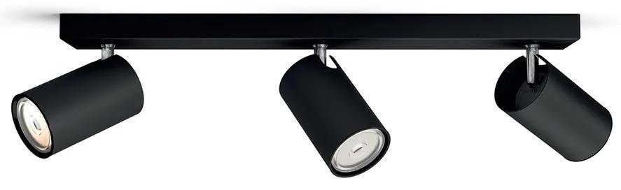 Philips 50593/30/PN - Lampa spot MYLIVING KOSIPO 3xGU10/5,5W/230V
