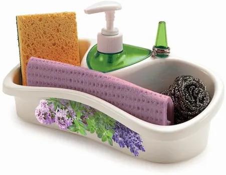 Suport cu dozator pentru detergentul de vase Snips