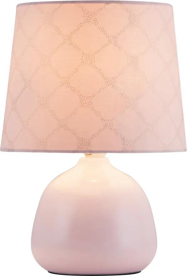 Rábalux 4384 Lampa de masa de noapte Ellie  ceramică E14 MAX 40W IP20
