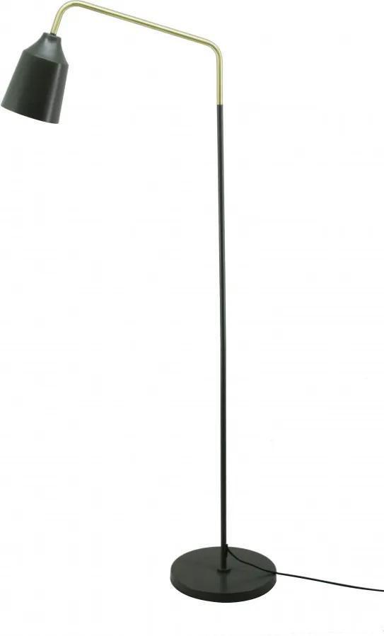 Lampadar din fier/cupru Capree verde army, un bec