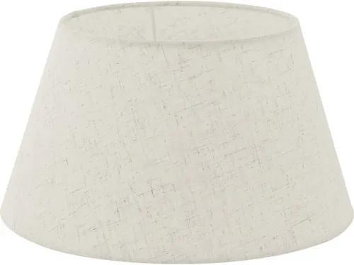 Abajur textil Vintage E14/E27 Ø300 mm, 165 mm, crem