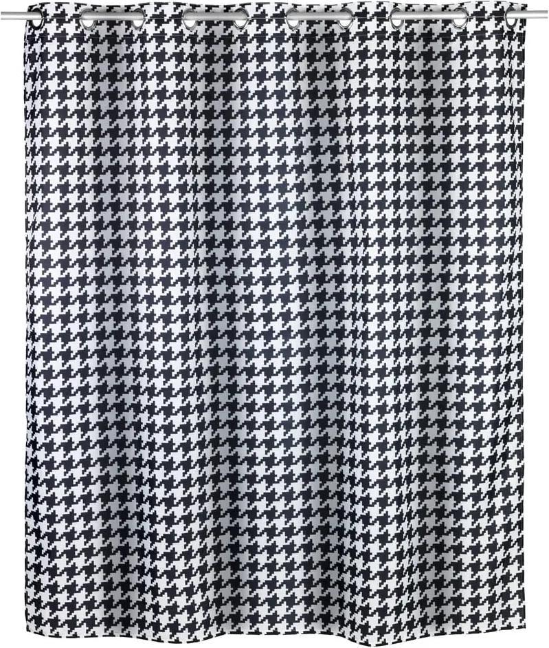 Perdea duș rezistentă la mucegai Wenko Fashion Flex, 120 x 200 cm