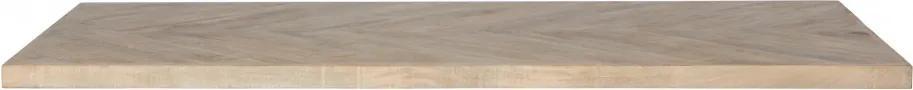 Blat de masa dreptunghiular din lemn de mango Tablo 5,5x180x90 cm
