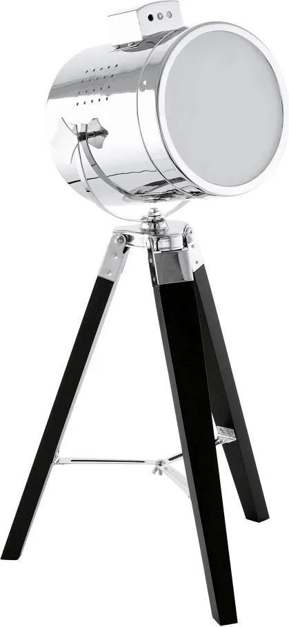 Veioza Eglo Trend Upstreet 1x60W, h64cm, negru-crom