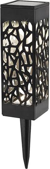 Rábalux 8949 Decor exterior Mora negru plastic LED 0,16 2.4lm 3000K IP23