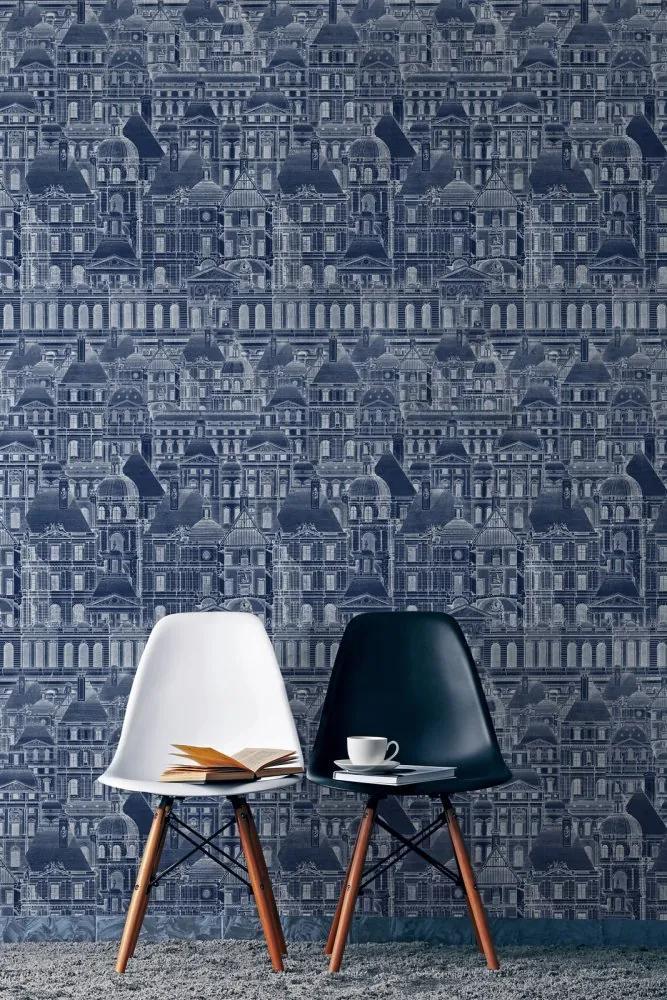 MINDTHEGAP Tapet - Louvre Blue