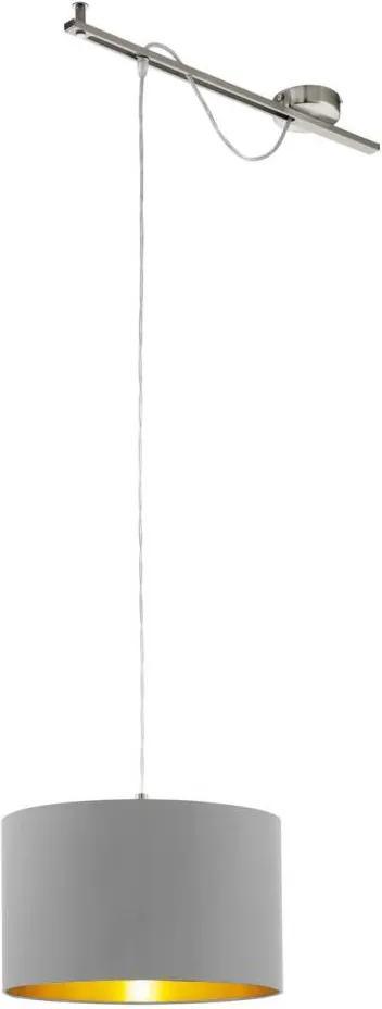 Eglo 96798 - Lampa suspendata CALCENA 1xE27/60W/230V bej