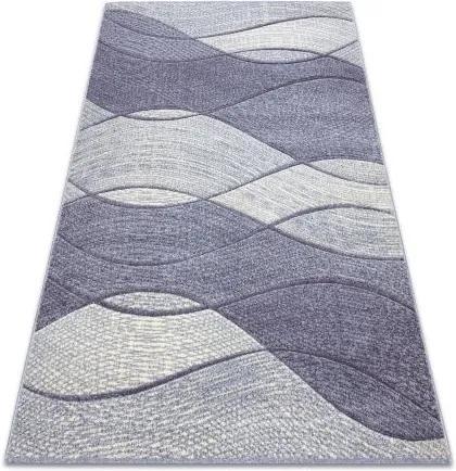 Covor Feel 5675/17944 Valuri bej/violet 80x150 cm