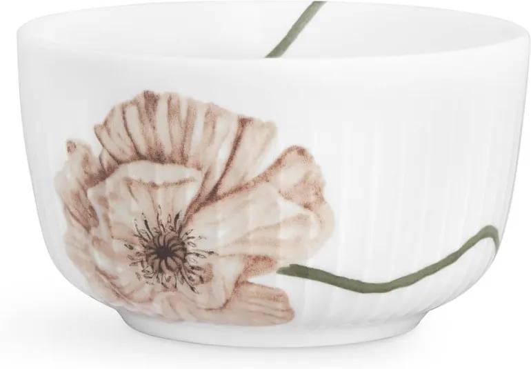 Bol din porțelan Kähler Design Hammershøi Poppy, ø 12 cm, alb
