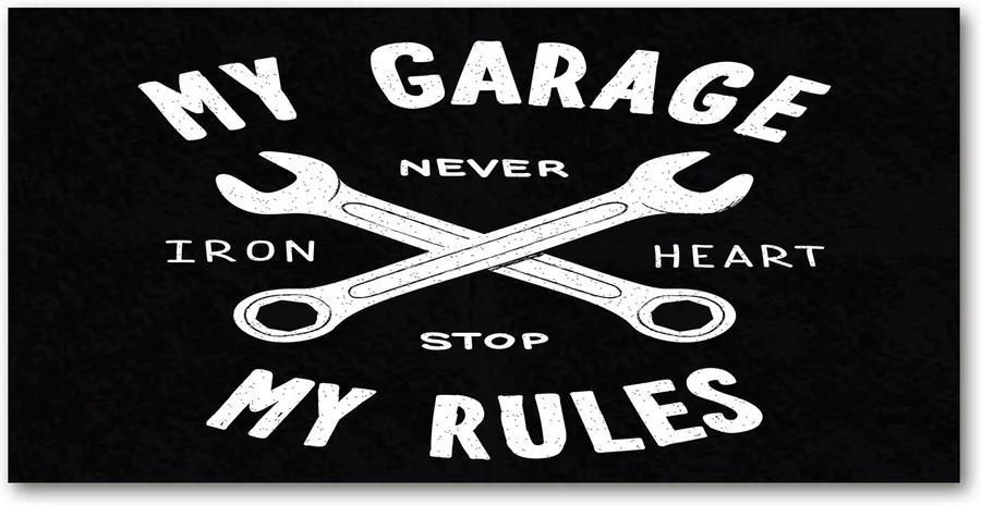 Tablou pe acril Garajul meu