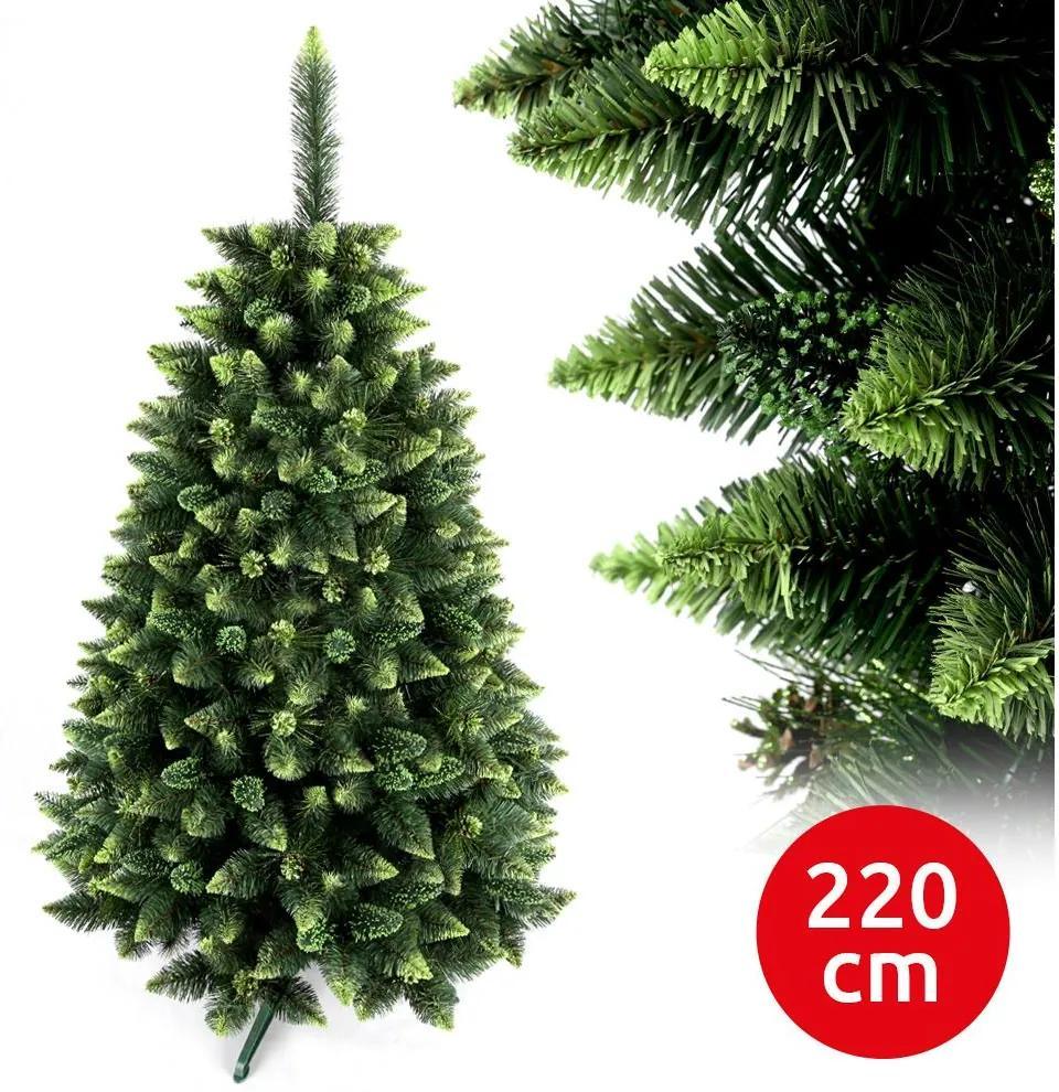 Brad de crăciun SEL 220 cm pin