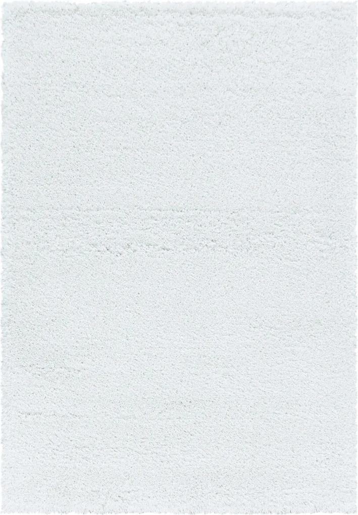 Covor Unicolor Stroud, Alb 60x110