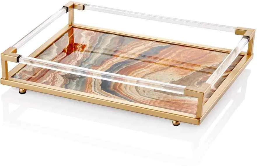 Tava Marble Bej - 52 x 38 x 10 cm