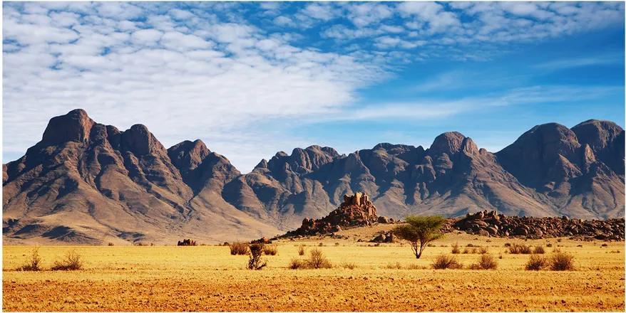 Tablou sticlă Rocks din namibia