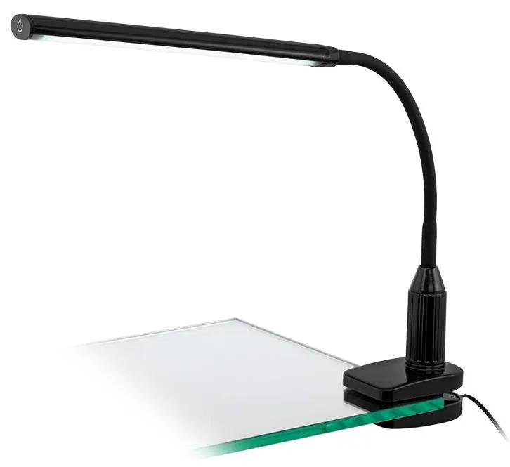 Eglo 96437 - LED Lampă cu clips LAROA LED/4,5W/230V negru