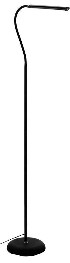 Eglo 96439 - Lampadar LED LAROA LED/4,5W/230V negru