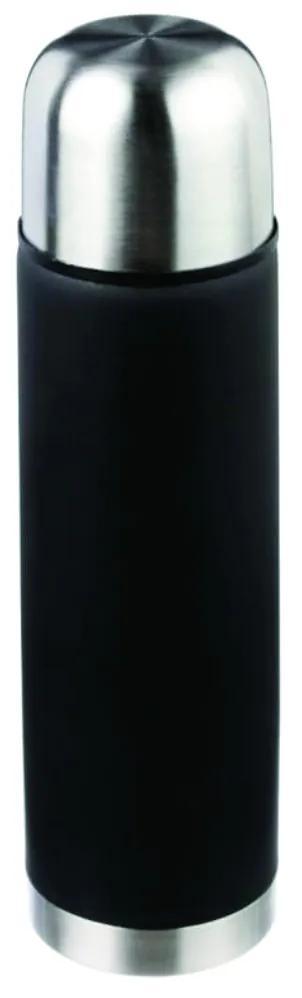Termos cu pereti dubli din otel inoxidabil  Negru  500 ml