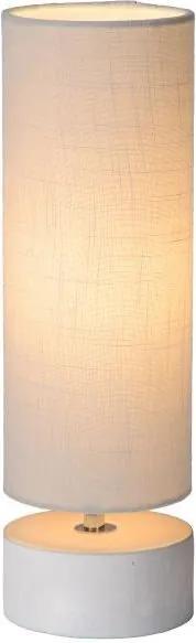 Lucide 34513/81/68 - Lampa de masa MANDY 1xE14/40W/230V alba