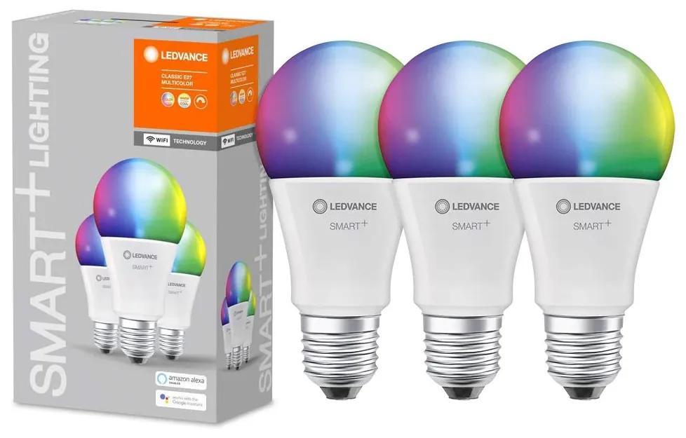 SET 3x LED RGB Dimming bec SMART + E27/14W/230V 2700K-6500K - Ledvance
