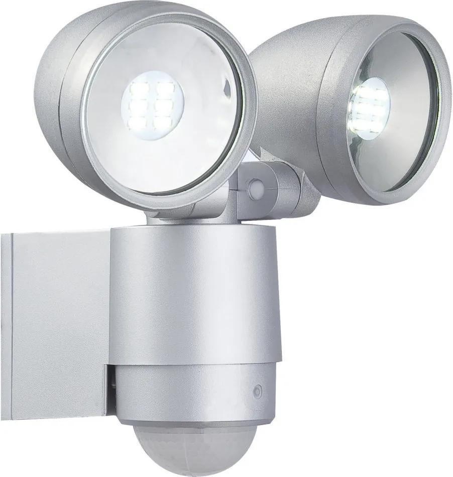 Globo 34105-2S Aplice perete cu senzor RADIATOR II aluminiu 2 x max. 3W 300lm 6500K IP44 A