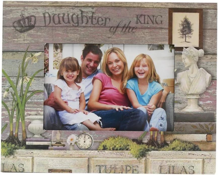 Rama foto Daughter dimensiune: 26 cm x 22 cm, fotografie 15 cm x 10 cm