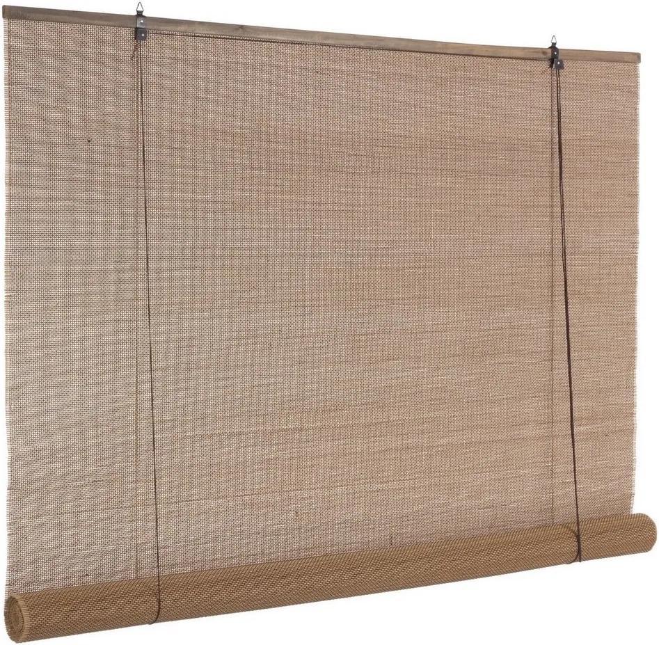 Jaluzea tip rulou din bambus maro Pia 150 cm x 260 h