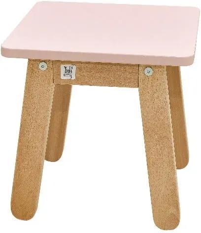 Scaun pentru copii BELLAMY Woody, roz deschis