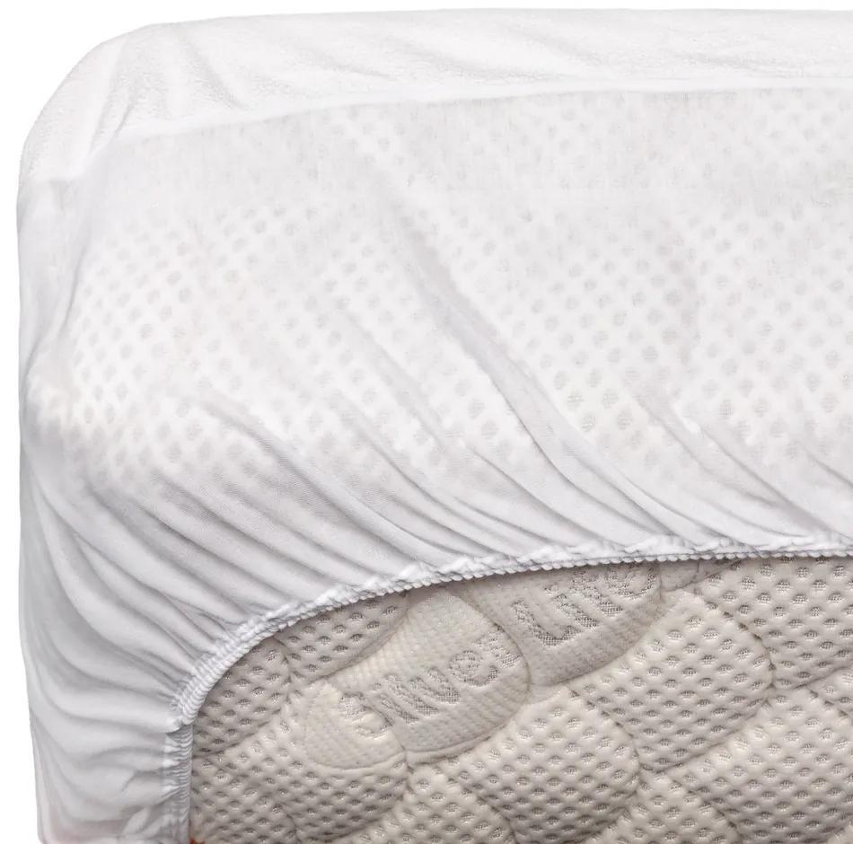 Protectie saltea impermeabila din bumbac cu elastic, 120 x 200