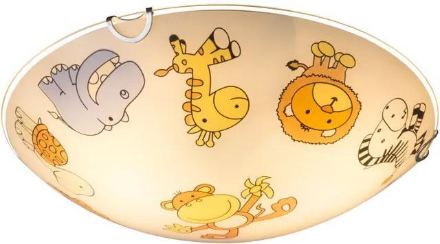 Globo KIDDY 40607 Plafoniere pentru copii alb 2 x E27 max. 60w IP20