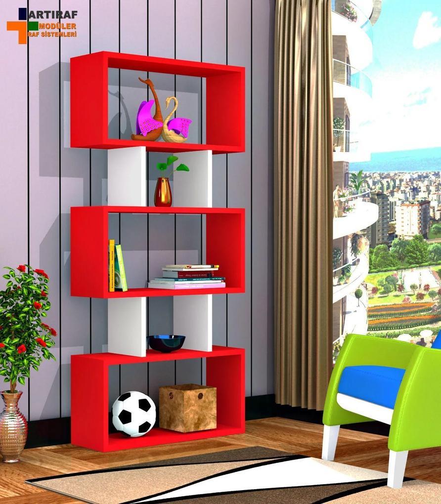Biblioteca - Lona - Rosu